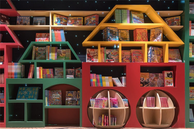 most creative bookstores around the world