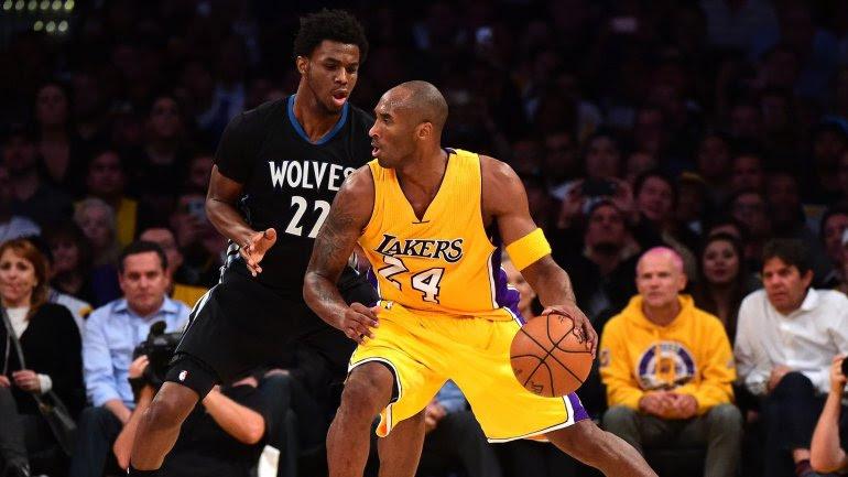 Kobe Bryant regresó a la NBA con una caída ante Minnesota Timberwolves (112-111)