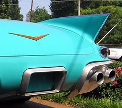 Cadillac rear detail