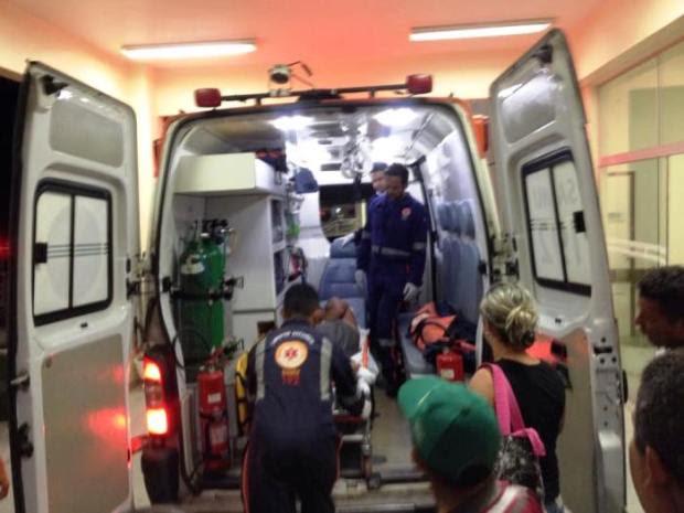 Empresário reagiu e ficou ferido; um dos assaltantes foi detido pelos indígenas. Foto: Alvaro Costa