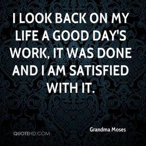 Grandma Moses Work Quotes Quotehd