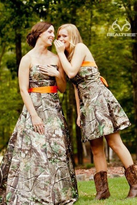 8 Camo Bridesmaid Dresses For Your Girls   Wedding Dresses