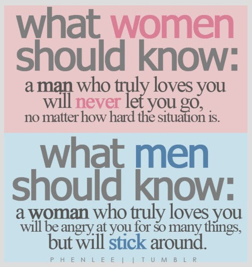 What Women Should Know A Man Who Truly Loves You Will Never Let You