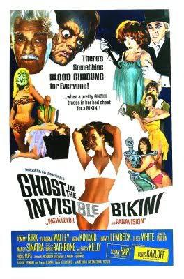 Invisible Bikini poster