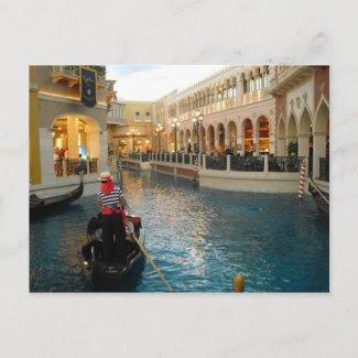 The Gondola Ride Postcard zazzle_postcard
