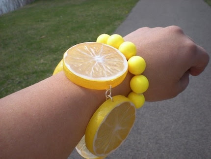 Lemon Love Chunky Bracelet