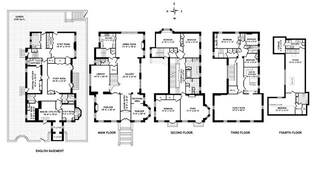 Old Mansion Floor Plans