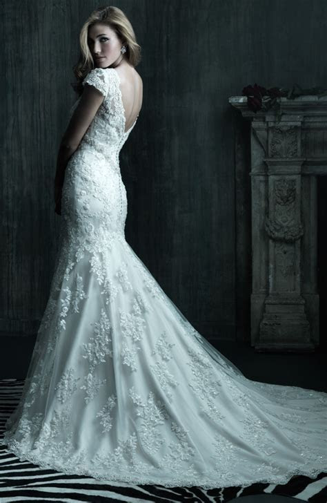 Elegant Lace Wedding Dresses with Long Trains ? Cherry Marry