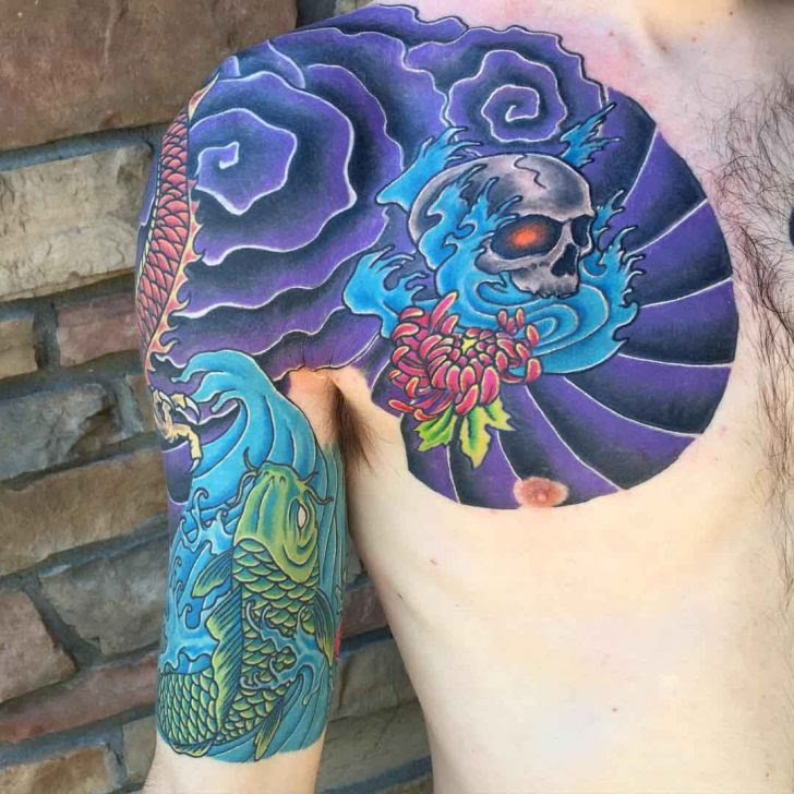 Japanese Tattoo Half Sleeve Best Tattoo Ideas Gallery