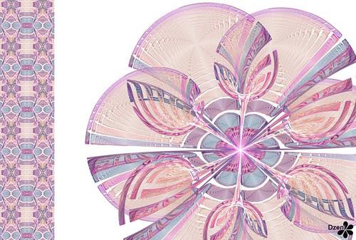 Metallic Glass Flower