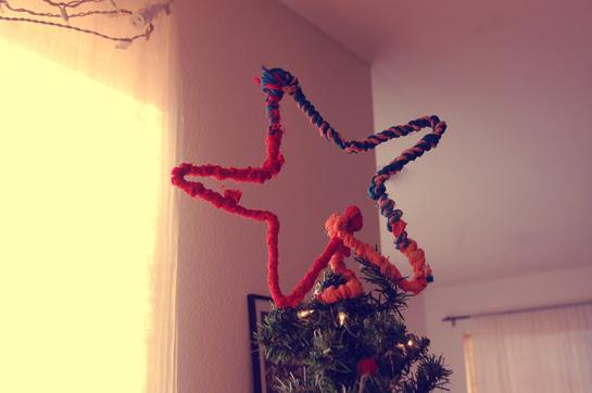 diy: christmas tree topper