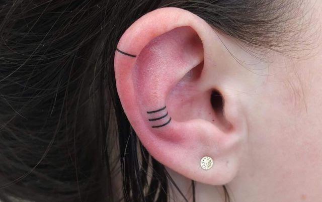 Tatuajes Helix Oreja La Nueva Tendencia En Tatuajes Que Conquista