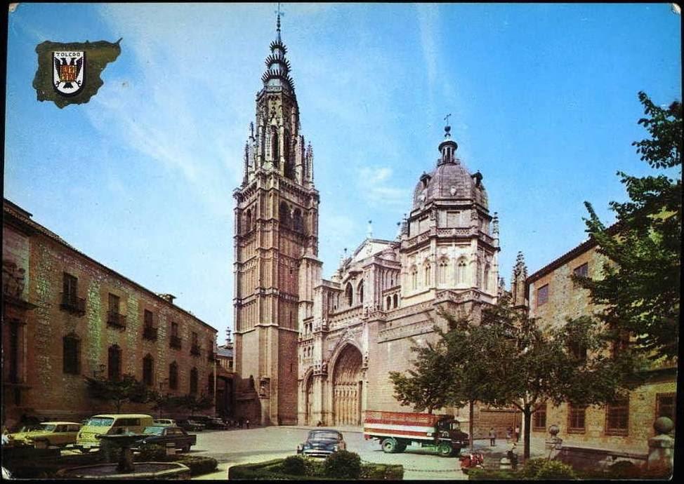 Catedral de Toledo a mediados del siglo XX