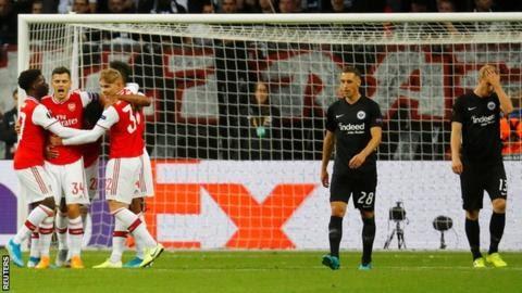 Arsenal gradate shine in europe