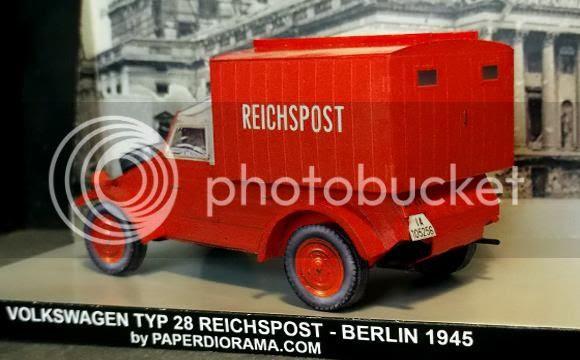 photo Kdf VW Typ 28 Reichspostwagen 1945 paper model via papermau.02_zpstifdvrav.jpg
