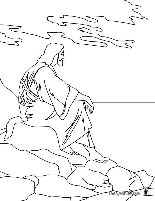 Dibujos Para Colorear Jesús Eshellokidscom