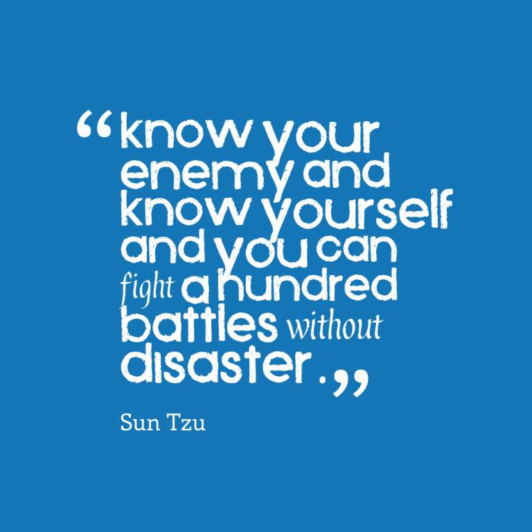 Enemy Quotes And Enemy Sayings Images About Know Your Enemy And Be