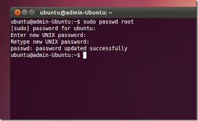 Enable and Disable Ubuntu Root Password