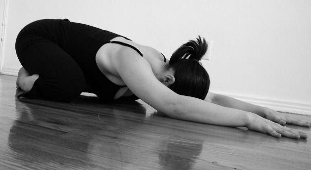 Yoga Poses - Child Pose