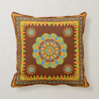 Boho Design Pillow