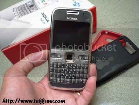 Melkco Rubberized Case-Nokia E72