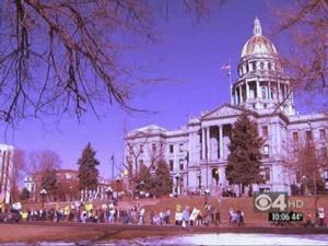 Protestors Unhappy With Health Care Bill