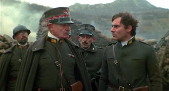 Alain Cuny e Gian Maria Volonté in una scena del film