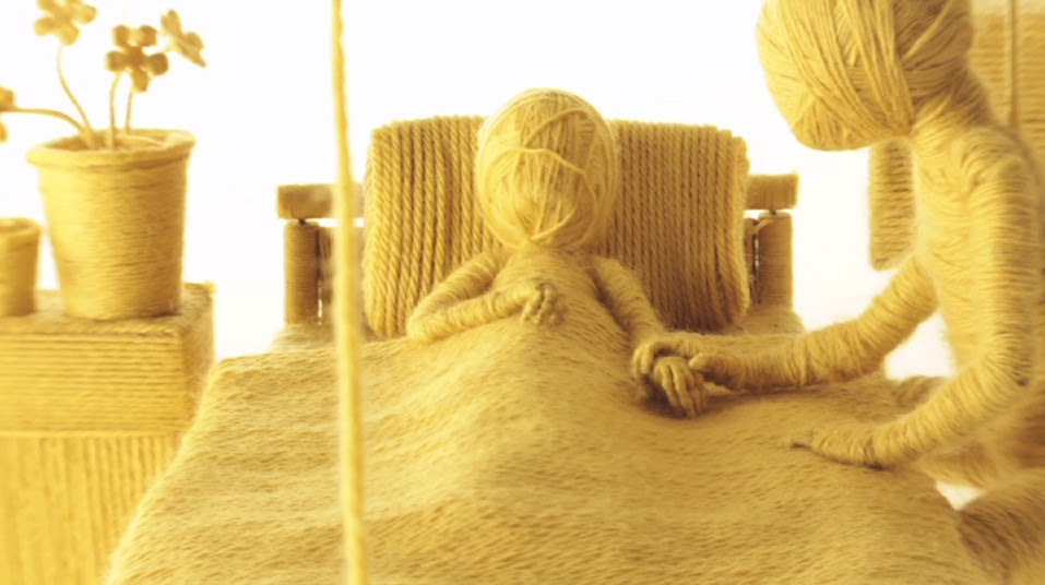 Moving On: A Stop motion Music Video for James Made with Yarn by Ainslie Henderson yarn stop motion music video animation