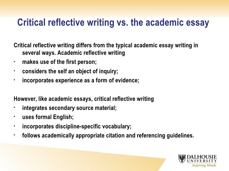 how to write a reflective essay in sociology