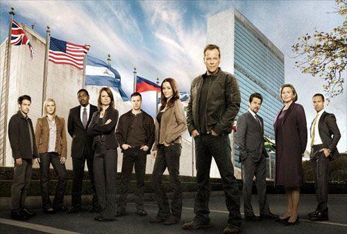 The main cast of 24, Season 8.
