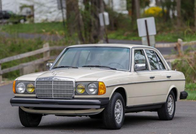 1982 mercedes benz 300d td turbo diesel california car no ...