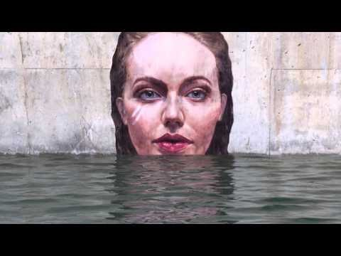 La street art a metà fra mare e terra di Sean Yoro aka HULA