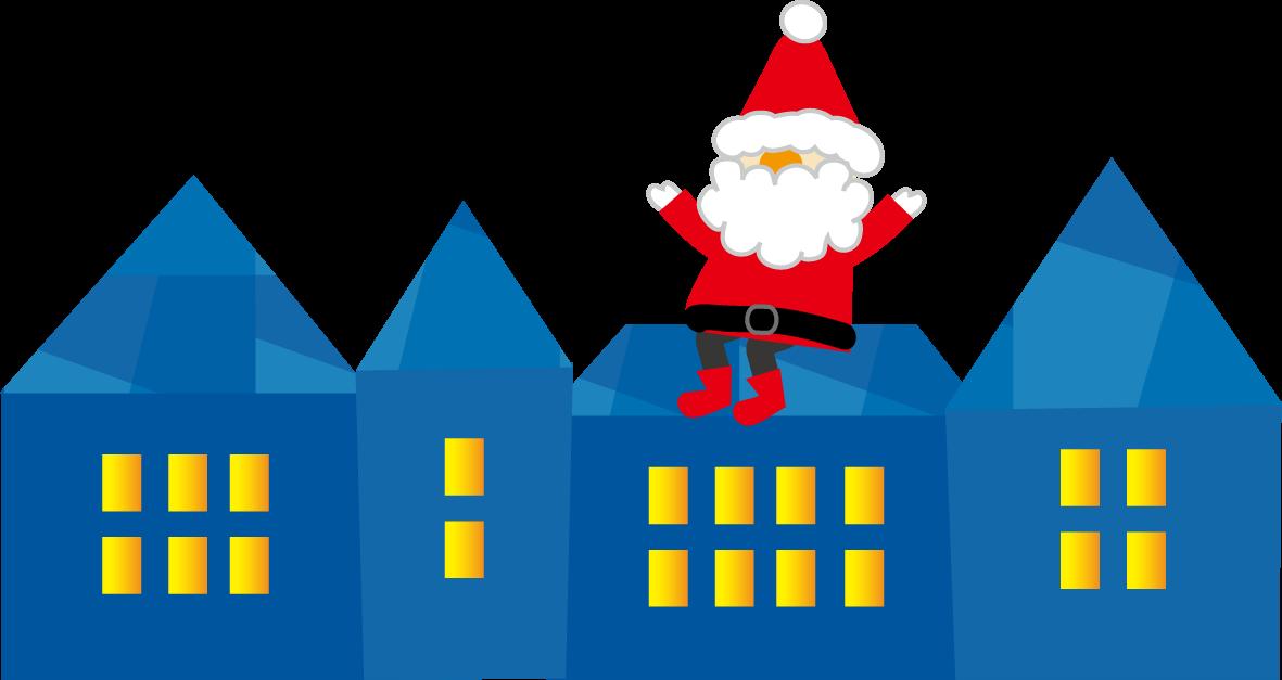 無料イラストクリスマスのイラスト無料素材2