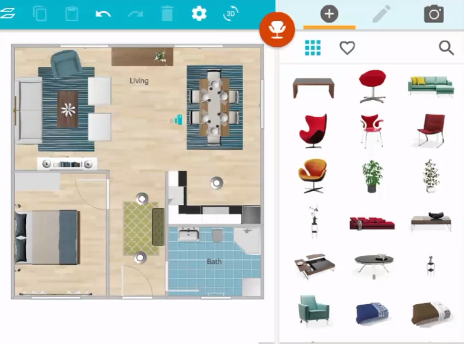 Build A Floor Plan On Your Tablet Caddigest