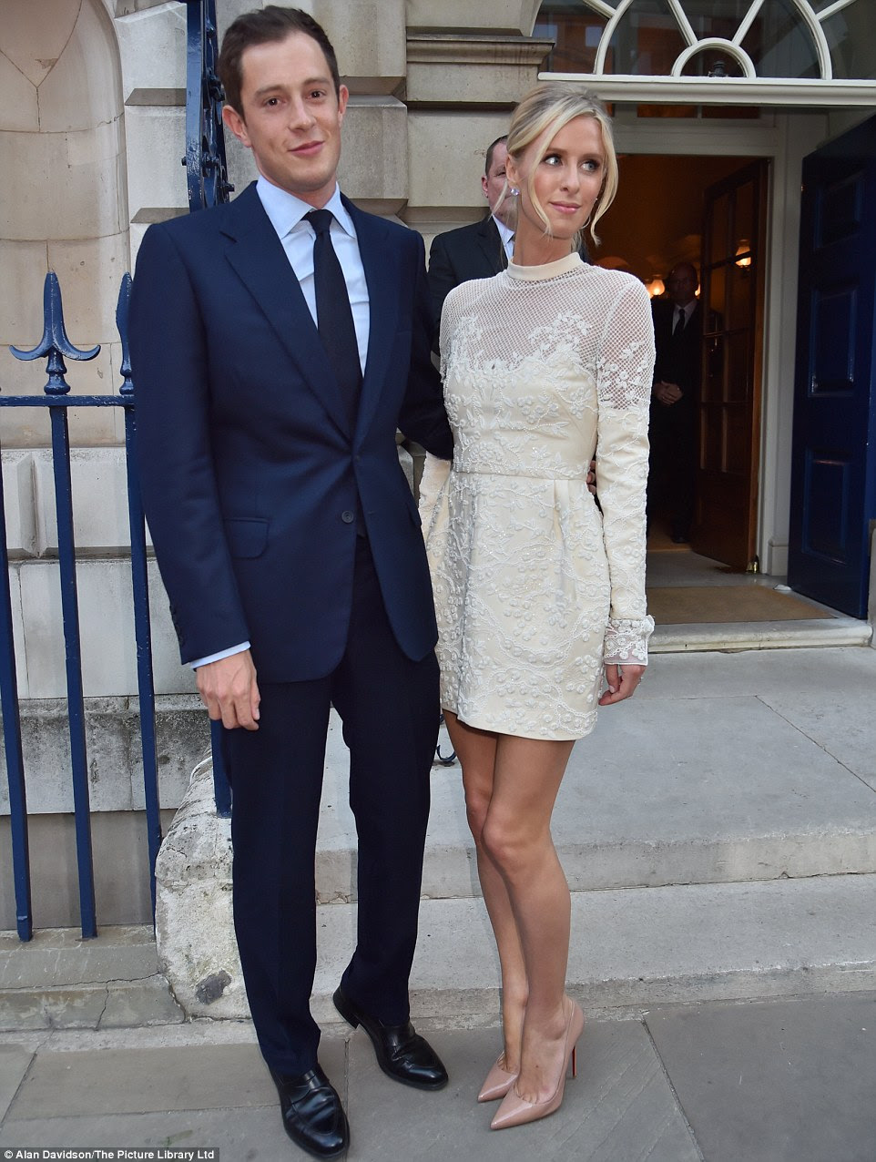 Their early courtship was complicated, as Nicky lived in Los Angeles while James was based in London
