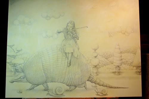 WIP - Armadillo Dream (Pencils 3)
