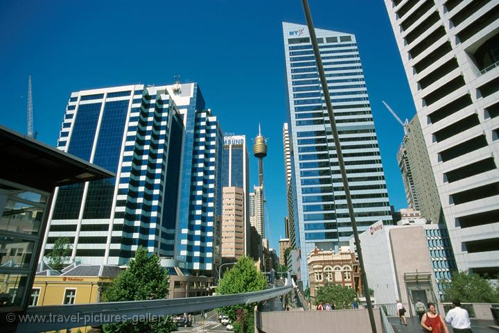 city view from Darling Harbour