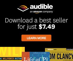 Audiobooks at audible.com!