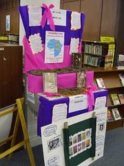 durban city library - book display