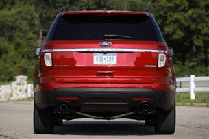2012 Ford Explorer EcoBoost rear view