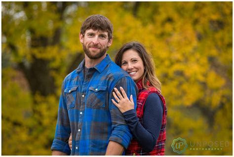 Christine and Kyle A Fall Engagement Story Galena IL