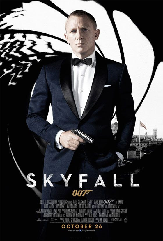 James Bond 007 Skyfall Poster