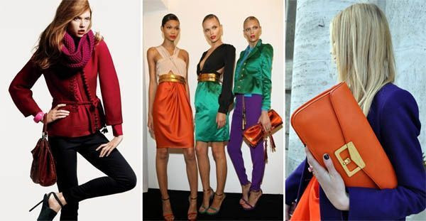 color blocking modelo4 Moda color blocking