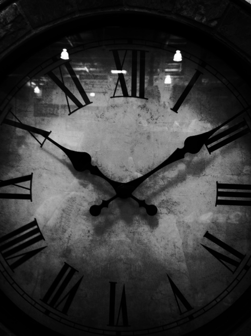 Time marches on. We can't do anything to stop it. We can only enjoy what time we have on earth.