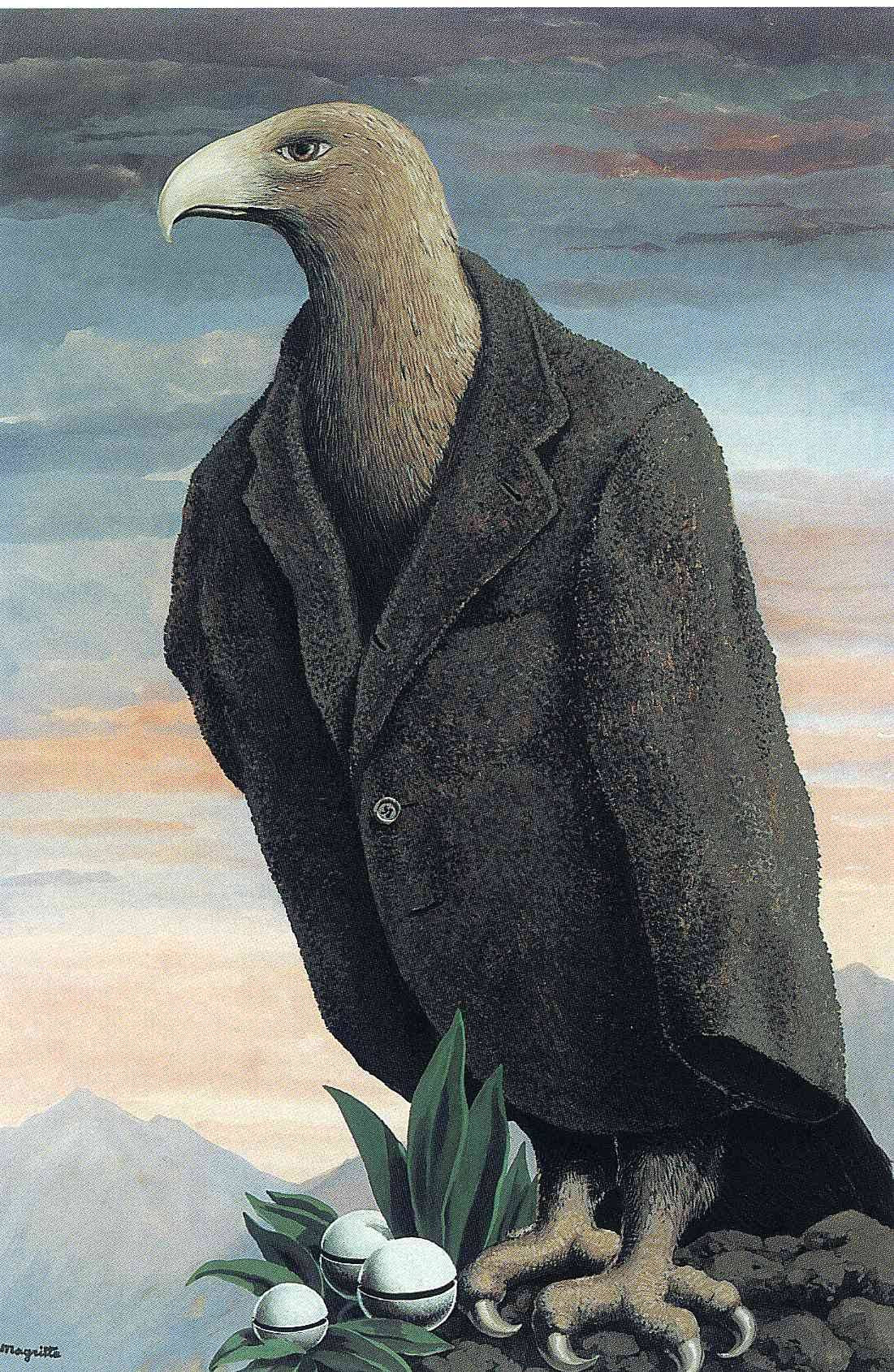 The present, 1939 Rene Magritte