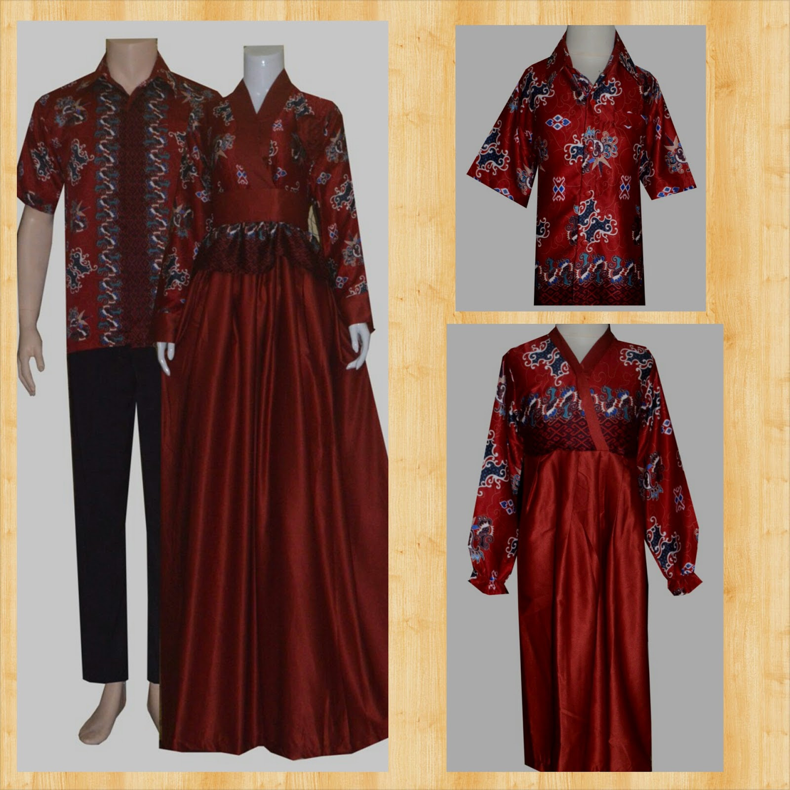Baju Batik Modern Untuk Orang Tua: Baju Gamis Terbaru Untuk Orang Tua