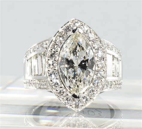 Impressive Marquise Diamond Ring   Want   Diamond wedding