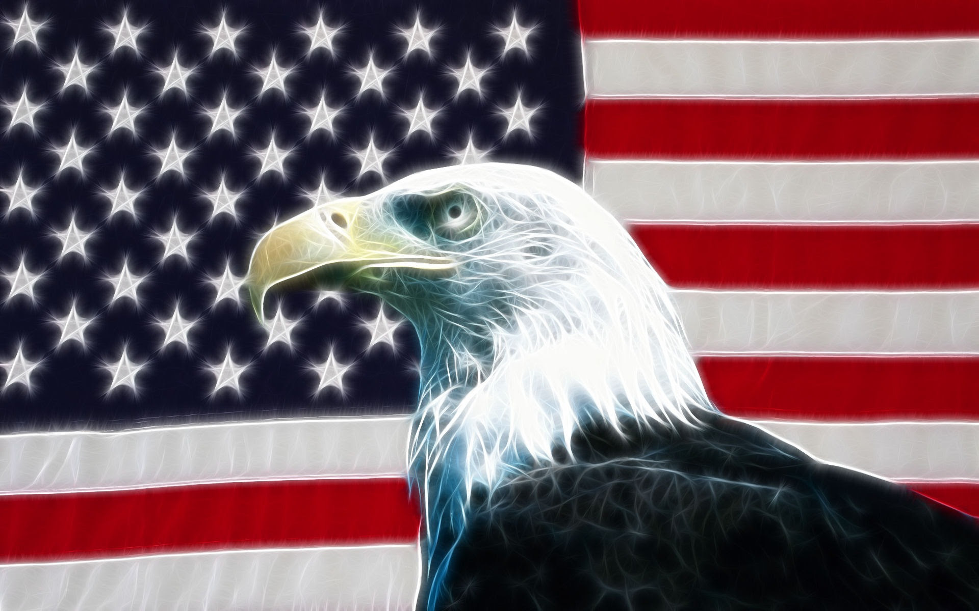 Eagle Usa Flag Wallpaper Desktop Walldiskpaper