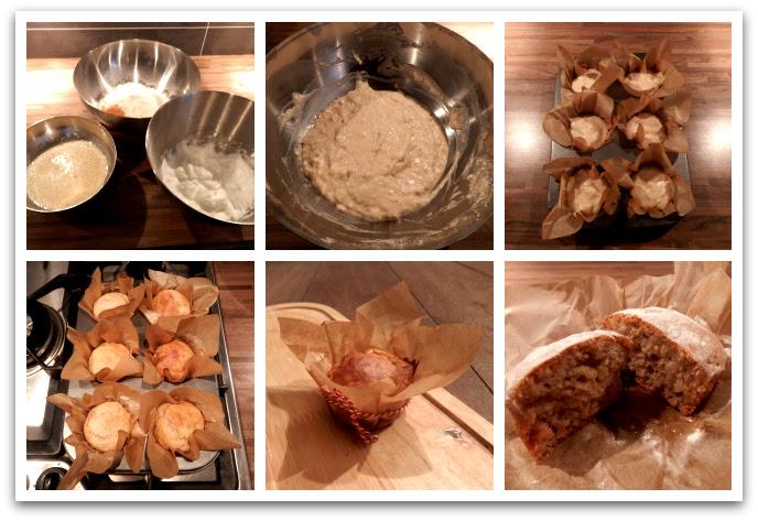 Recept gezond tussendoortje: bananenmuffins