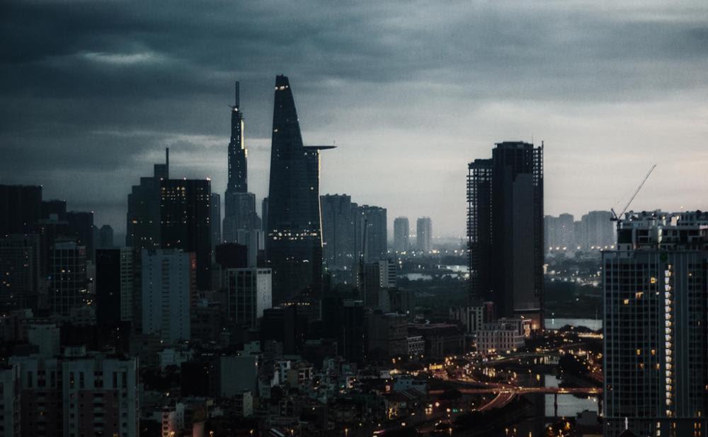 Tóa tháp biểu tượng Sài Gòn